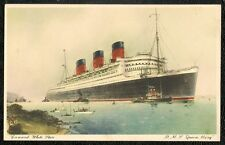 RMS QUEEN MARY Cunard White Star Line