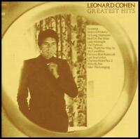 LEONARD COHEN - GREATEST HITS CD ~ SUZANNE ~ 60's ~ BEST OF *NEW*