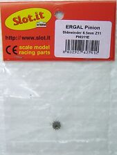 SLOT IT SIPI6511E 11-TOOTH ERGAL SIDEWINDER PINION 1/32 SLOT CAR PARTS