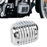 Spannungsregler Schutz Abdeckung Chrom für Harley Softail FLST FXST 2001-2017