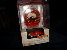 #10/26 vtg 2002 HOT WHEELS Christmas Ornament SOOO Fast Custum CAR SET Keepsake