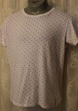 Armani Jeans Designer Logo Spot Cotton Short Sleeve Slim Fit T Shirt Top XXL