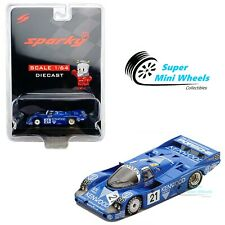 Sparky 1:64 Porsche 956 No.21 3rd 24H Le Mans 1983 (Blue)