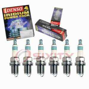 6 pc Denso Iridium Power Spark Plugs for 2002-2003 Saturn Vue 3.0L V6 qw