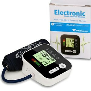 New Digital Upper Arm Blood Pressure BP Monitor Cuff 180 Memory Portable Meter