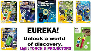 LIGHT PROJECTORS AND TORCHES Learning Science Educational Kids Space Sea Animal