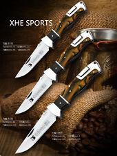 "JL 330-332 Beautiful Fishing Hunting Folding Knife Lock Back Folder 3"" to 4"""