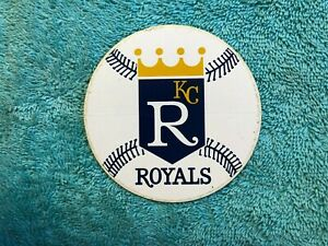 c. 1969 KANSAS CITY ROYALS VINTAGE DECAL STICKER