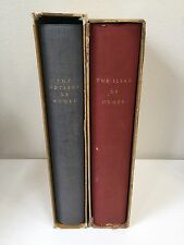 Homer Iliad Odyssey Alexander Pope, 1931 LTD ED Club, Signed Krimpen (RF566)