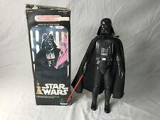 STAR WARS vintage 1977 12 inch DARTH VADER complete original BOX cape saber