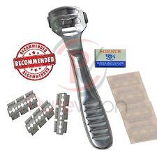 HARD Dead Skin Corn CALLUS REMOVER Shaver Cutter Pedicure + 10 BLADES Steel NEW