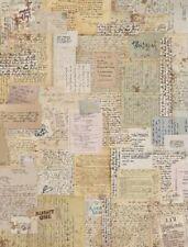 Rice Decoupage Paper / Decoupage Sheets  / Scrapbooking / Vintage Print Beige 1
