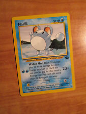 PL Pokemon MARILL Card BLACK STAR PROMO Set #29 Wizard of the Coast League WOTC