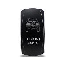 Rocker Switch Toyota Land Cruiser 80 series Off-Road Lights Symbol - White LED