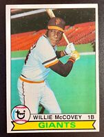 1979 Topps #215 WILLIE McCOVEY San Francisco Giants Hall of Fame EX-MINT
