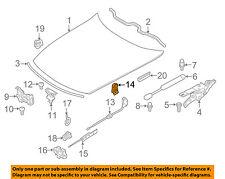 BMW OEM 06-08 Z4 Hood-Latch Lock Release Handle Lever 51238223164