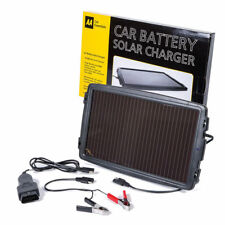 AA CAR & CARAVAN BATTERY SOLAR POWER CHARGER 12V CHARGER PLUGS INTO EOBD SOCKET