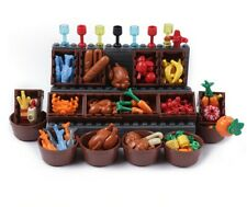 ACCESSORIES - Food Fruits Vegetables Chicken Bread Apple for Lego Minifigure