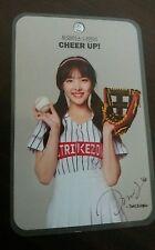 """twice 트와이스 """" strike zone """" baseball photocard photo card rare nayeon"""