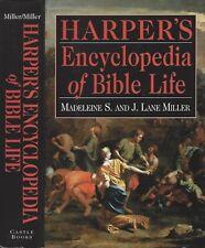Harper's Encyclopedia of Bible Life--Madeleine S. and J. Lane Miller--1996, HB