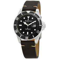 Mathey-Tissot Mathey Vintage Quartz Black Dial Men's Watch H9010ALN