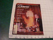Scarce DINERS CLUB MAGAZINE martch 1960;40pgs  EDDIE CANTOR, RODGERS & HAMMERST