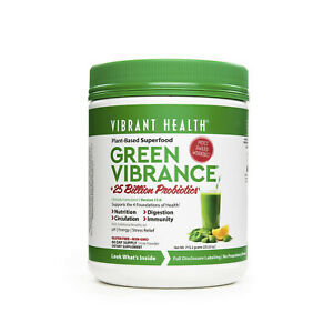 Vibrant Health Green Vibrance Plant-Based Daily Superfood,25.23 Oz