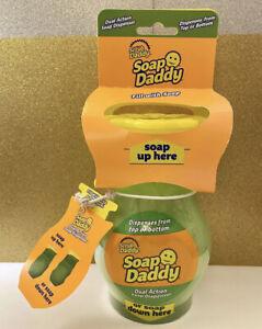 Scrub Daddy Soap Dual Action Soap Dispenser Shark Tank Tik Tok NEW IN HAND