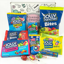 American Jolly Rancher Sweet Hamper Gift Box | USA Hard Candy, Chews, Lollipop