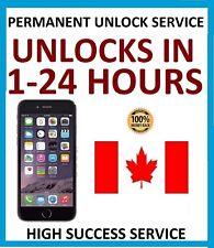 FACTORY UNLOCK SERVICE FOR IPHONE 4s 5 5c 5s 6 6s 6+ 6s+ SE 7 7+ BELL MTS CANADA