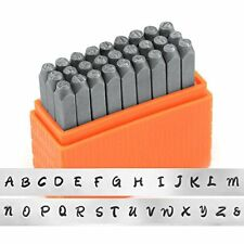 ImpressArt- Basic Bridgette Uppercase Letter Metal Stamp Set Jewelry Making Tool