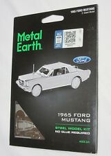 Fascinations Metal Earth 3D Steel Model Kit 1965 Ford Mustang New In Package.