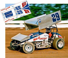 CD_DSC_002 #29 Doug Wolfgang   Weikert Livestock sprint car   1:24 decals