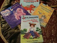 Educational Beginner Books(Lot 4) Scholastic, My Little Pony, Puffin, Witch  K10