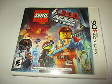 The Lego Movie Videogame (Nintendo 3DS) XL 2DS Game w/Case & Manual