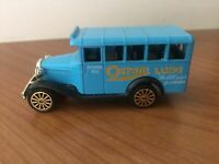 Corgi - Bedford School Bus - Advertising Osram Lamps Mint Condition Original box