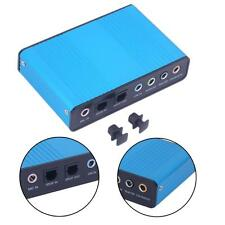USB 2.0 7.1 Channel 5.1 Optical Audio Sound Card External Adapter for PC  CB