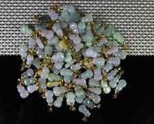 10 pc Cert'd  925 Silver Green 100% Natural A JADE jadeite Pendants  gourd 9572