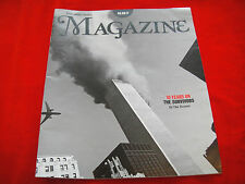 9/11~SEPTEMBER 11 2001~THE TIMES MAGAZINE~03/09/11~TEN YEARS ON~TWIN TOWERS