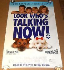 Look Who's Talking Now Movie Poster 1993 Promo 39.5x27 John Travolta