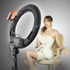 Yidoblo FE-480II Bi color Soft LED Ring Light Studio Lighting w/ Remote Control