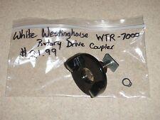 White Westinghouse Bread Maker Machine Rotary Drive Coupler for model Wtr-7000