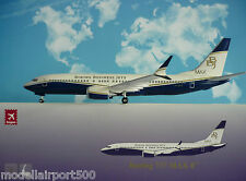 Hogan Wings Boeing 737 MAX 8 Boeing Business Jets BBJ + Herpa Wings Katalog