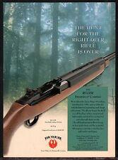 2001 RUGER Deerfield 99/44 .44 magnum Carbine AD Vintage Hunting Advertising
