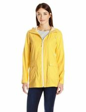 Nwt Cole Haan Women's Yellow Lightweight Hooded Weather Proof Jacket Sz M-$400