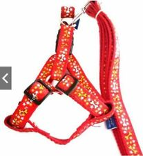 Pet Leash with Harness. Medium- Large Breed Puppy - Red