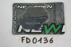 Pastiglie freno posteriore NEWFREN Rear brake pads Buell RS 1200 X1 2001