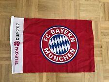 Fahne Telekom Cup 2017 FC Bayern München FCB Gladbach Düsseldorf Mainz