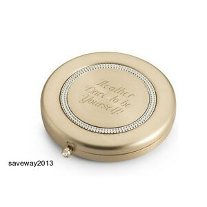 mirror compact makeup pocket cosmetic portable folding up new make sided purse l