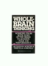 B0013G2UGC Whole-Brain Thinking 1985 Ballantine paperback